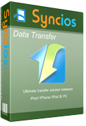Product box of syncios data transfer